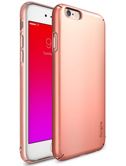 Чехол на Apple iPhone 6S Plus, Ringke серия Slim, цвет розовое золото (Rose Gold)