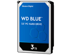 ЖЕСТКИЙ ДИСК HDD 3TB WESTERN DIGITAL BLUE SATA 6GB/S 5400RPM