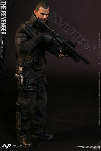 Каратель фигурка 1/6 Scale The Punisher, THE REVENGER ULTIMATE EDITION Marvel Comics VM-027 VTS TOYS