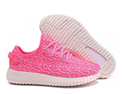 КРОССОВКИ ADIDAS YEEZY BOOST 350 Pink/White