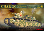 Сборная модель: (MENG TS-009) French Super Heavy Tank Char 2C