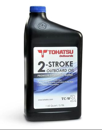 МОТОРНОЕ МАСЛО TOHATSU 2-STROKE TC-W3 OIL 0,946Л