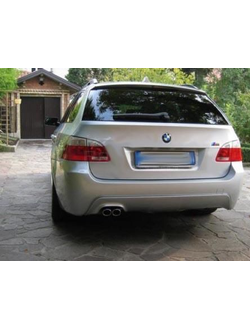 Задний Бампер для BMW 5 e61  Touring 03-10 M-Pack (ABS Plastic)