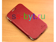 Чехол iMUCA velvety glaze для Samsung Galaxy Note 2 n7100 красный