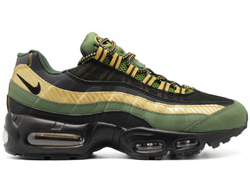 Nike Air Max 95 Black Grey Gold Арт. 012МF