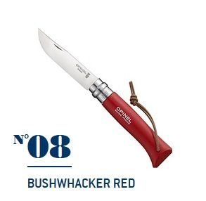 Нож Opinel N°08 Bushwhacker Red