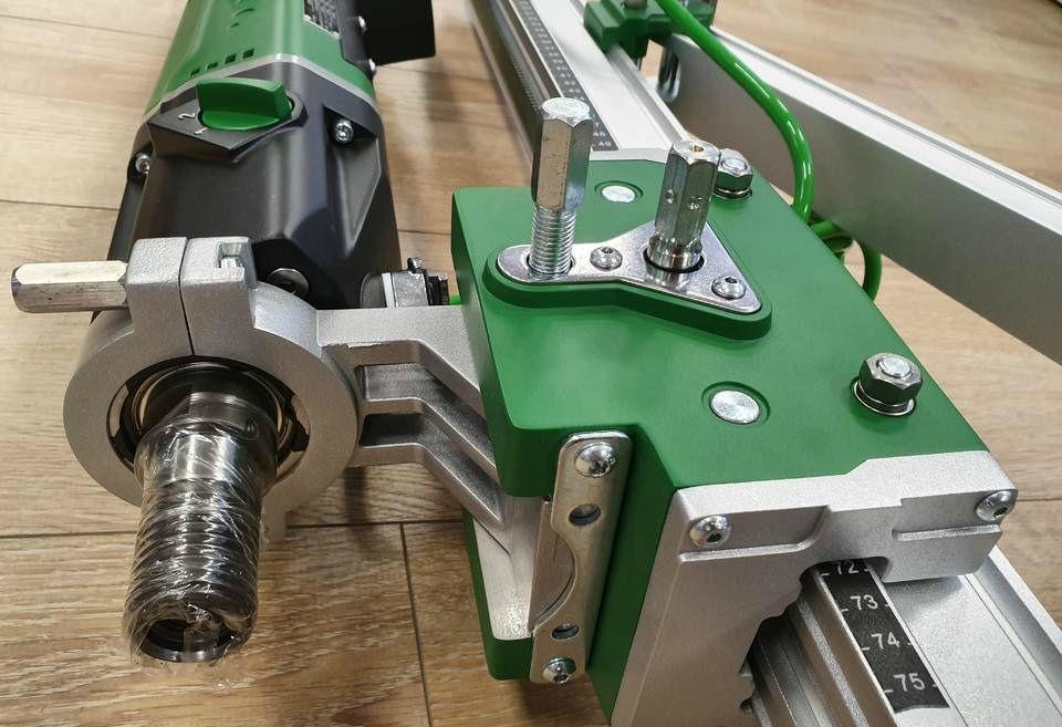 Установка алмазного бурения до 200 мм Bycon UNI-200  (DMP-162 + DSP-250)