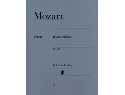 Mozart. Piano Pieces