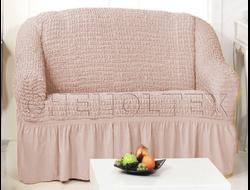 Чехол Стандарт на 2-х местный диван, цвет Капучино