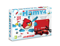 "Sega - Dendy ""Hamy 4"" (350-in-1) Angry Birds Red"