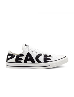 Кеды Chuck Taylor All Star Peace Low Top белые