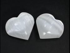Сердце Селенит в ассортименте, Канада (40*35*20 мм, 27-30 г) №21656