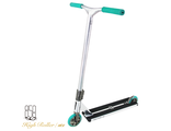 Cамокат Ride858 High Roller chrome&light blue