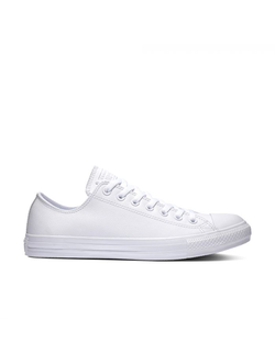 Кеды Converse Chuck Taylor All Star Mono Leather Low-Top белые