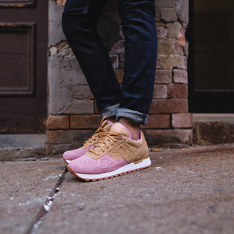 Мужские Кроссовки Saucony Shadow Original Cannoli Pack Tank/Pink