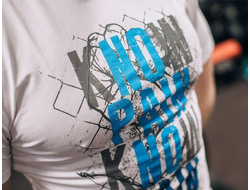 "Футболка DICH: Classic T-Shirt White ""No Pain, No Gain"""