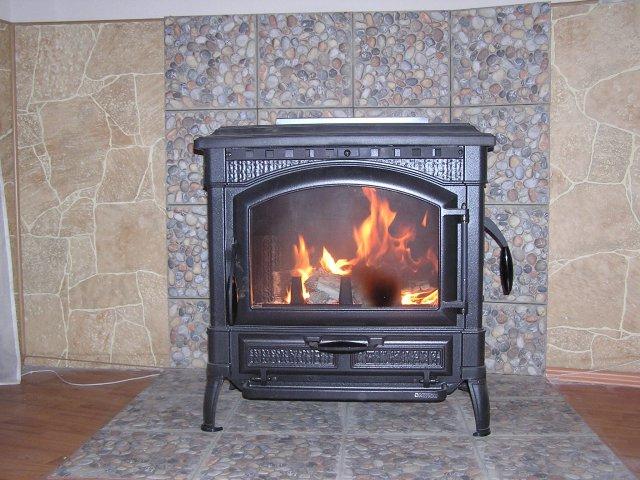 печь-камин каминетти викинг