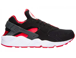 Nike Air Huarache Black Red (41-45) Арт. 024М