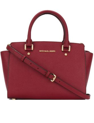 Сумка Michael Kors Selma Bordo / Бордовая