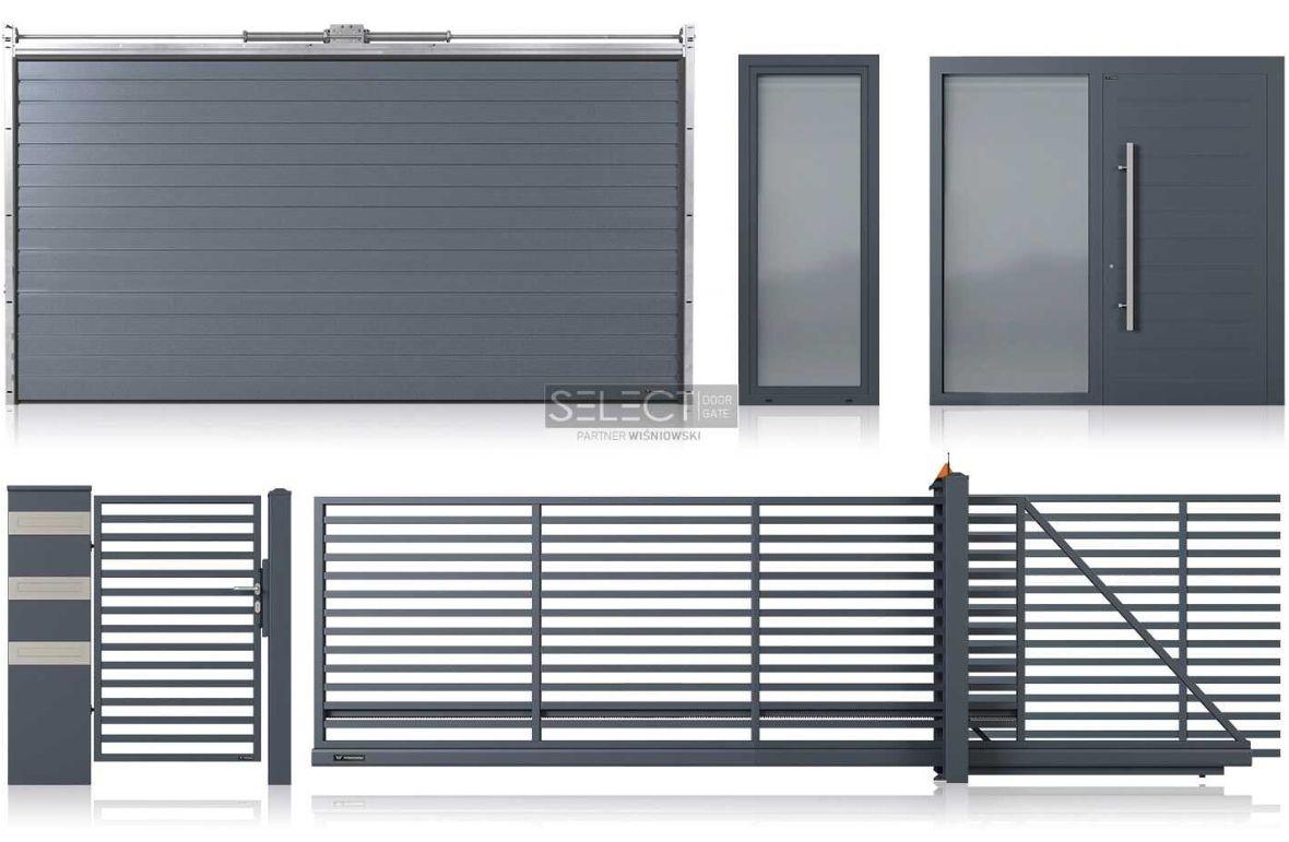 Окна - двери - ворота от одного производителя - польский завод Вишневски - установка Харьков