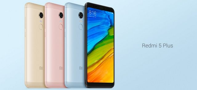Redmi 5, Redmi 5 Plus