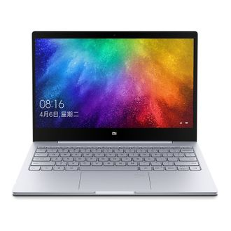 "Ноутбук Xiaomi Mi Notebook Air 13.3"" 2018 (Intel Core i7 8550U 1800 MHz/13.3""/1920x1080/8GB/256GB SSD/DVD нет/NVIDIA GeForce MX150/Wi-Fi/Bluetooth/Windows 10 Home) Серебристый"