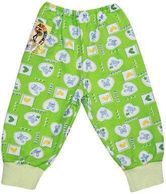 Ползунки-штанишки (Артикул 714-043) цвет зеленый