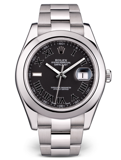 Rolex Rolex Datejust II 41 mm Dark Grey Roman Dial