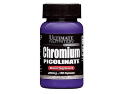 Ultimate Nutrition Chromium Picolinate 200 мкг 100 Капсул
