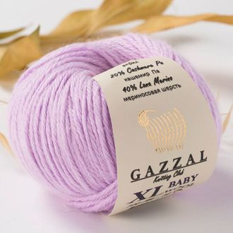 Gazzal Baby Wool XL 823 сирень