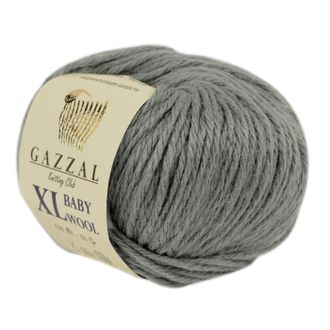 Gazzal Baby Wool XL 818 серый