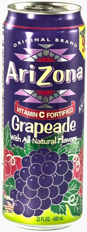 Arizona Grapeade 0,68л(США)