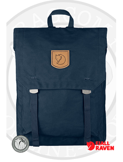 Рюкзак Fjallraven Foldsack No.1 Navy. Интернет магазин Bagcom