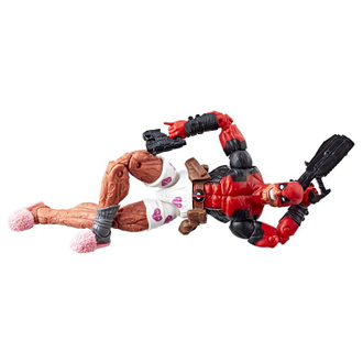 Дэдпул в тапочках 15.5 см / Marvel Legends Series 6-inch Deadpool