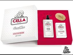 Подарочный Набор для Ухода за Бородой Cella Beard Care Set
