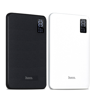 Power Bank Hoco 3USB B24 (30000mah) Черный