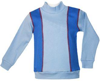 Джемпер для мальчика (Артикул 445-172) цвет голубой