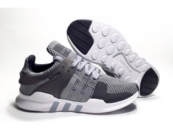 Adidas EQT Support ADV Gray/White серо-белые