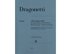 "Dragonetti ""The Famous Solo"" for Double Bass and Orchestra"