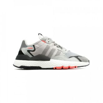 Adidas Nite Jogger Grey/White/red Унисекс (36-45)