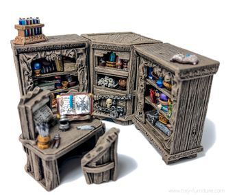 Dark Magister reading corner (PAINTED)