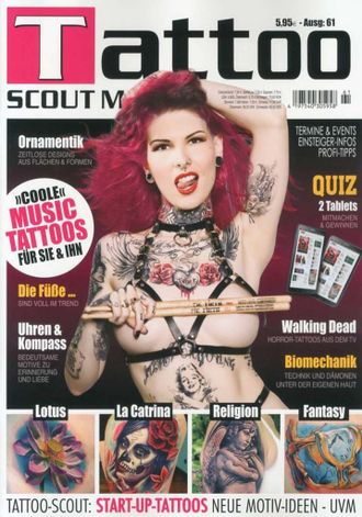 TATTOO SCOUT Magazine № 61