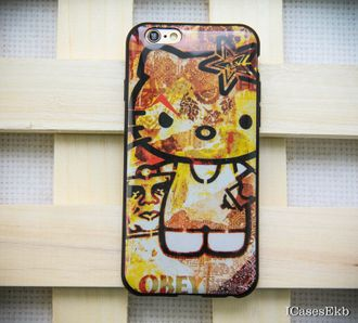 Чехол Hello Kitty для iPhone 6/6s Obey