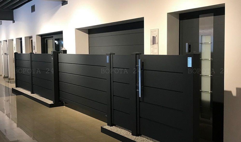 Изготовление ворот в городе Харьков - автоматические гаражные и откатные ворота для дома