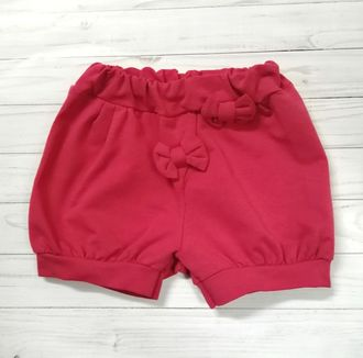 Шорты для девочки (Артикул 2126-362) цвет красный