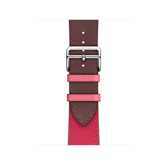 Apple Watch Hermès S4 40мм with bordeaux/rose extreme/rose azalea swift leather single tour