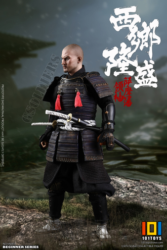 Самурай Сайго Такамори фигурка 1/6 Scale THE NO.1 JAPANESE SOLDIER - SAIGO TAKAMORI (KN004) 101TOYS