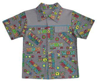 Рубашка (Артикул 2106-013) цвет серый