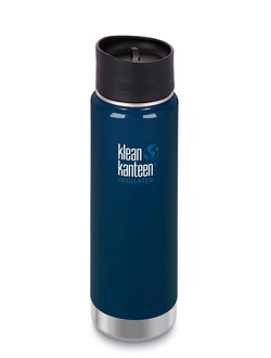 Термобутылка Klean Kanteen Insulated Wide 20oz (592 мл) Deep Sea