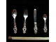 A set of cutlery Baroque